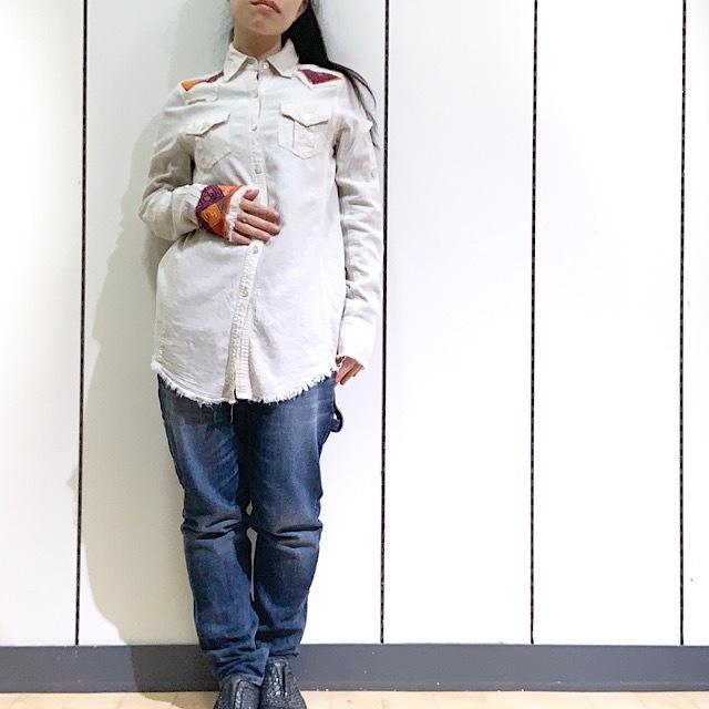 drm-056 綿レーヨンヒッピーシャツ