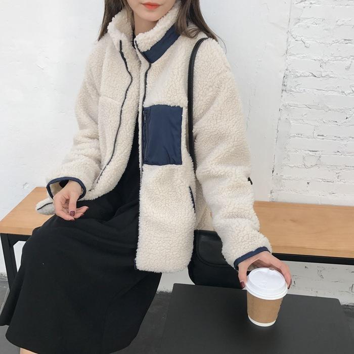 【訳あり品特価】ボアブルゾン ジャケット
