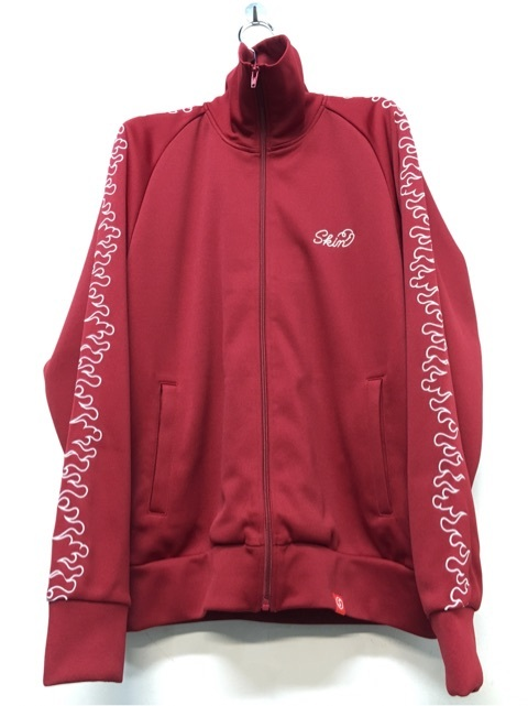 SKIN / fire track jacket(red) - 画像1
