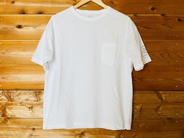 ラベル入りビッグTシャツ(ホワイト)