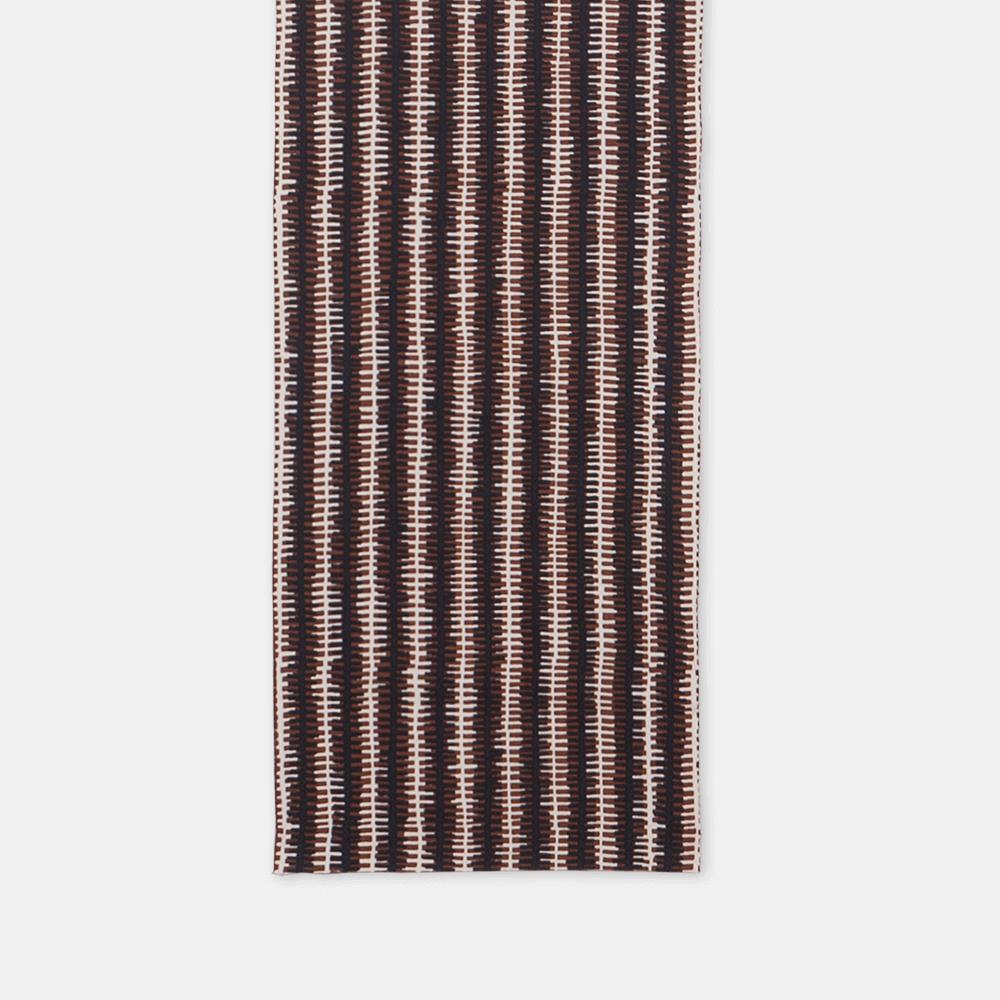 柚木沙弥郎 小巾布 ジッパー シルクスクリーン(手捺染)