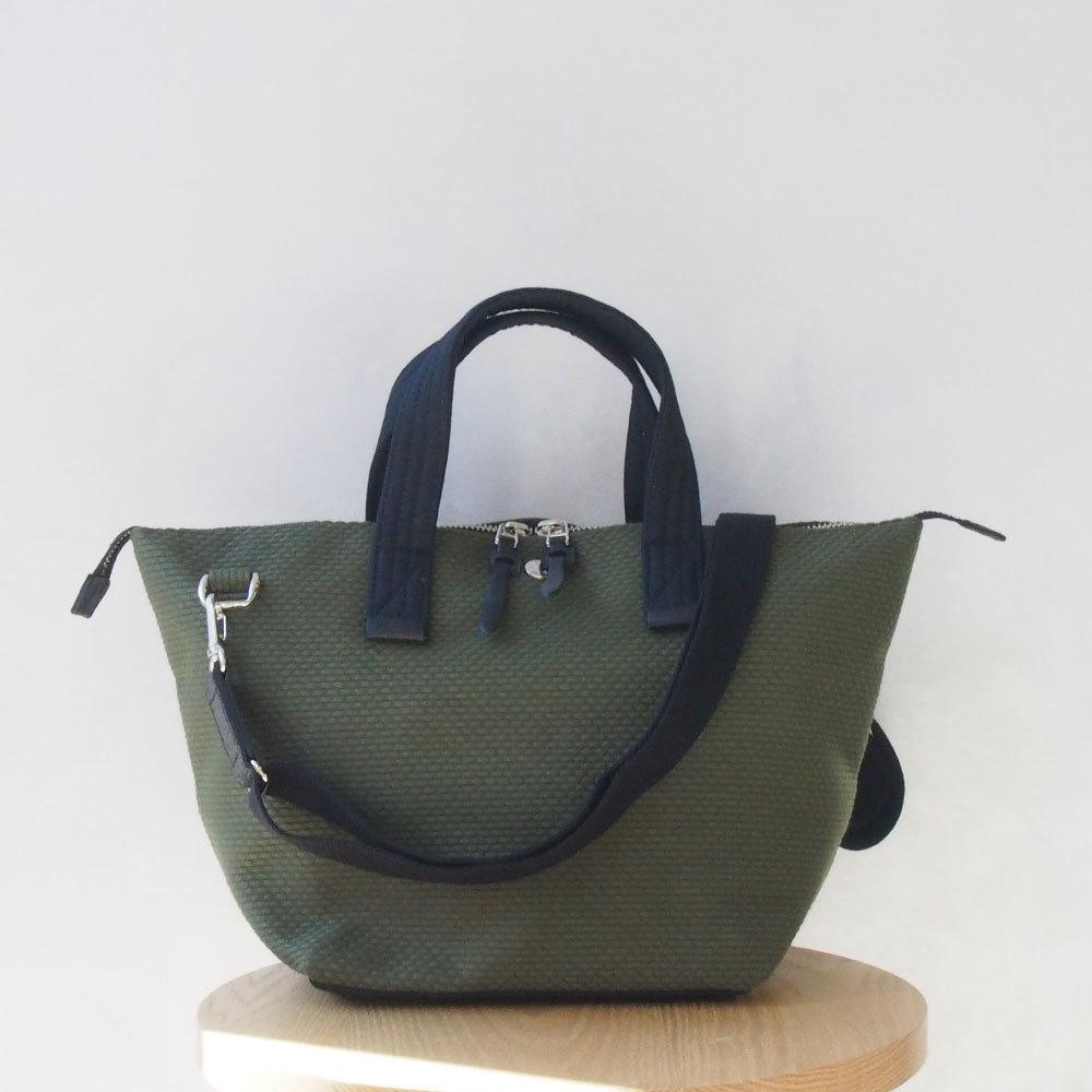 CaBas N°33 Bowler bag small + Shoulder strap khaki/Black