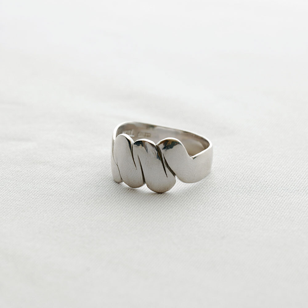 moments / ring - L (silver)