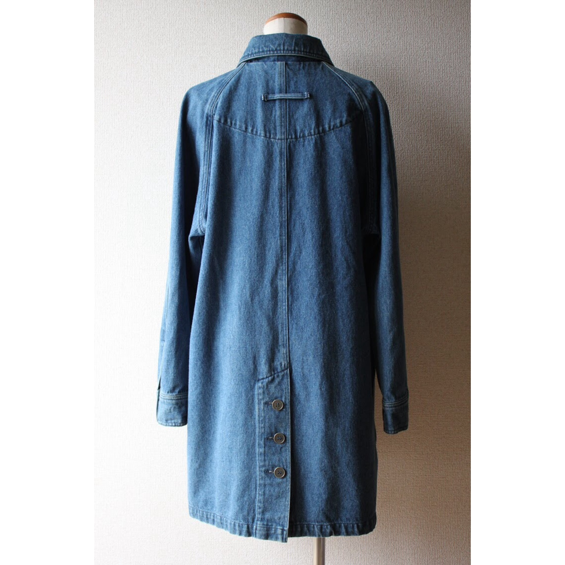 Vintage denim coat by Eddie Bauer