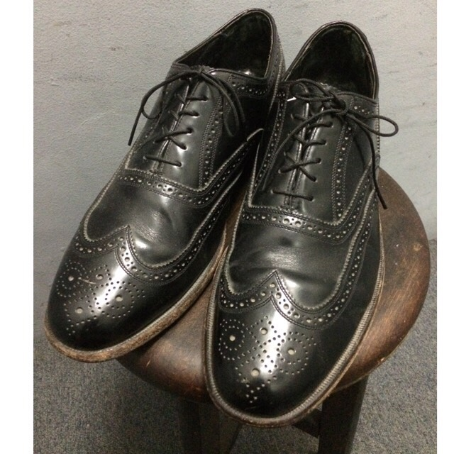 USA製 Flosheim Leather Shoes