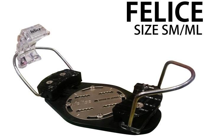 新品【 Felice】Alpine Hard Binding BK()