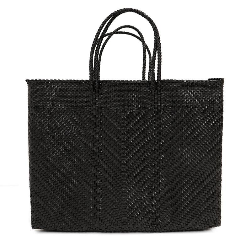 MERCADO BAG ESPIGA - Black(L)