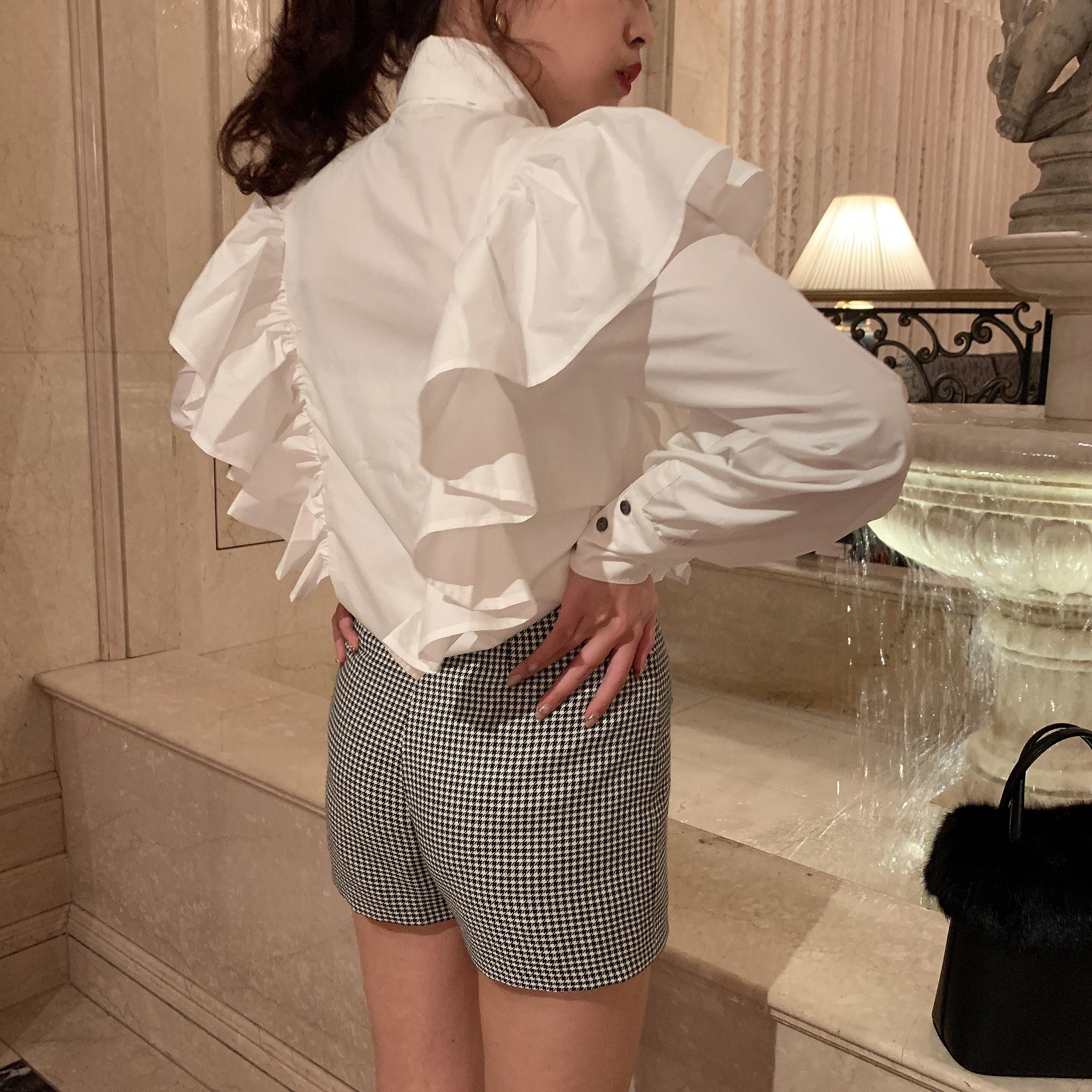Désir original classical check short pants