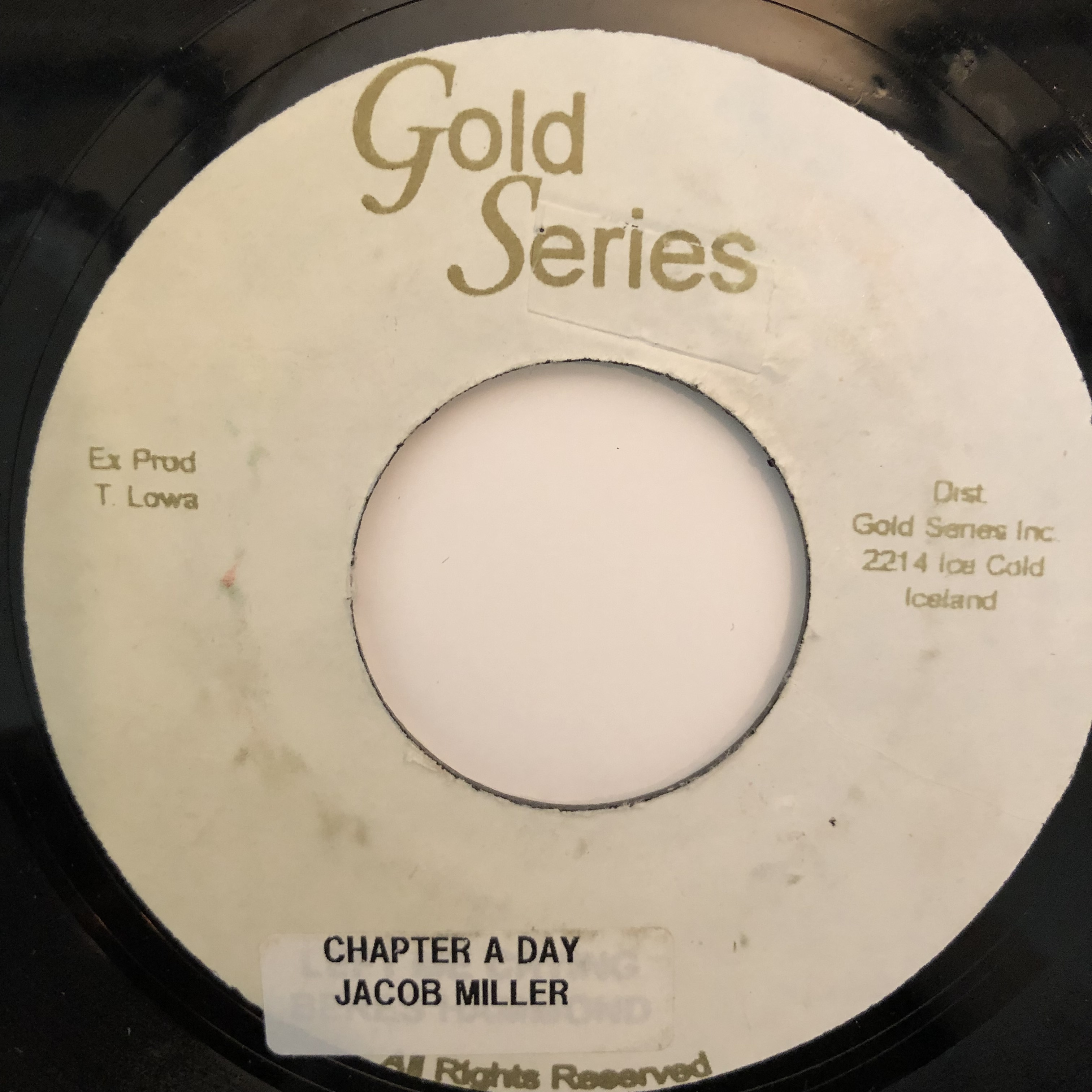Jacob Miller - Chapter A Day【7-20309】
