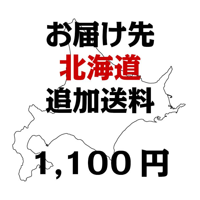 【お届け先北海道】 追加送料(1100円)※商品とあわせて別途ご購入ください。