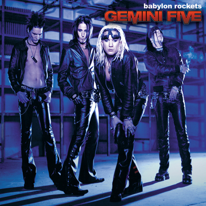 "GEMINI FIVE ""Babylon Rockets""日本盤"
