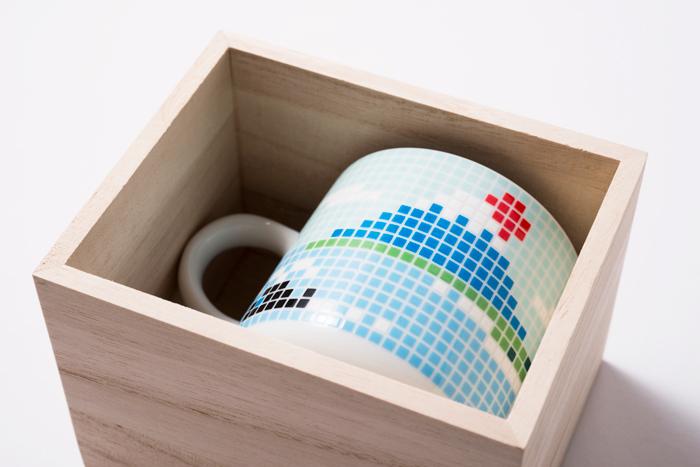 富士山 マグカップ 木箱1個入り / The Porcelains