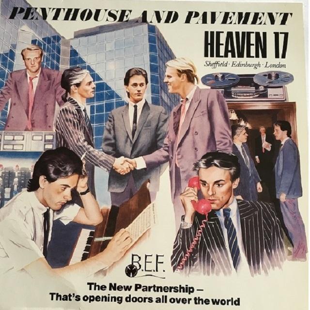 【LP・欧州盤】Heaven 17 / Penthouse and Pavement