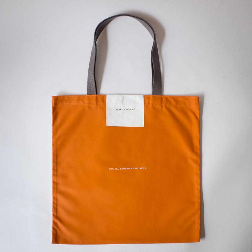 'ECO' トートバッグ (Orange)
