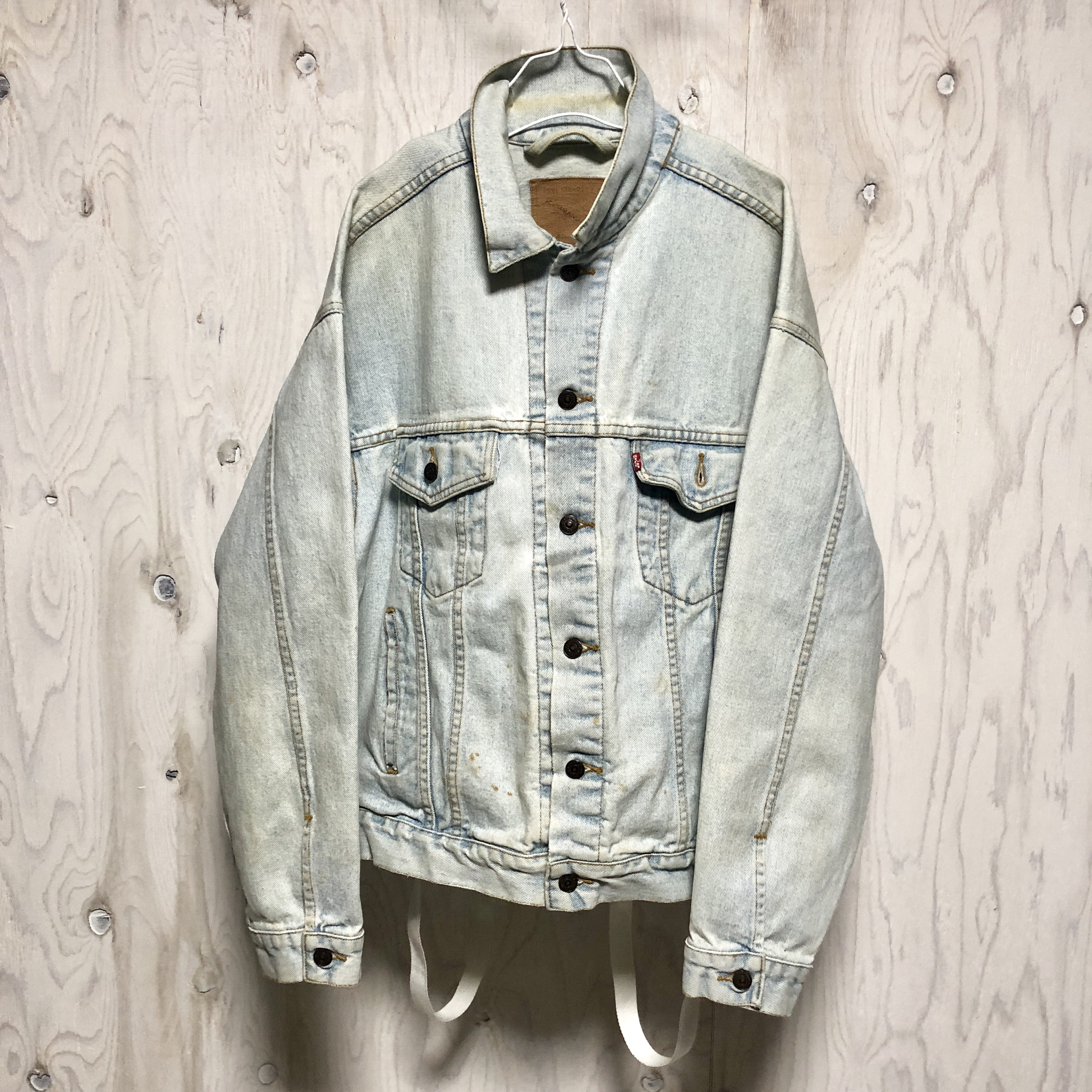 Levis side zip denim jkt