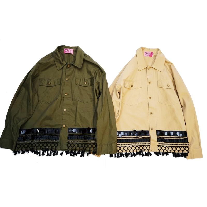 EFFECTEN(エフェクテン)Afghan Concho shirts jaket