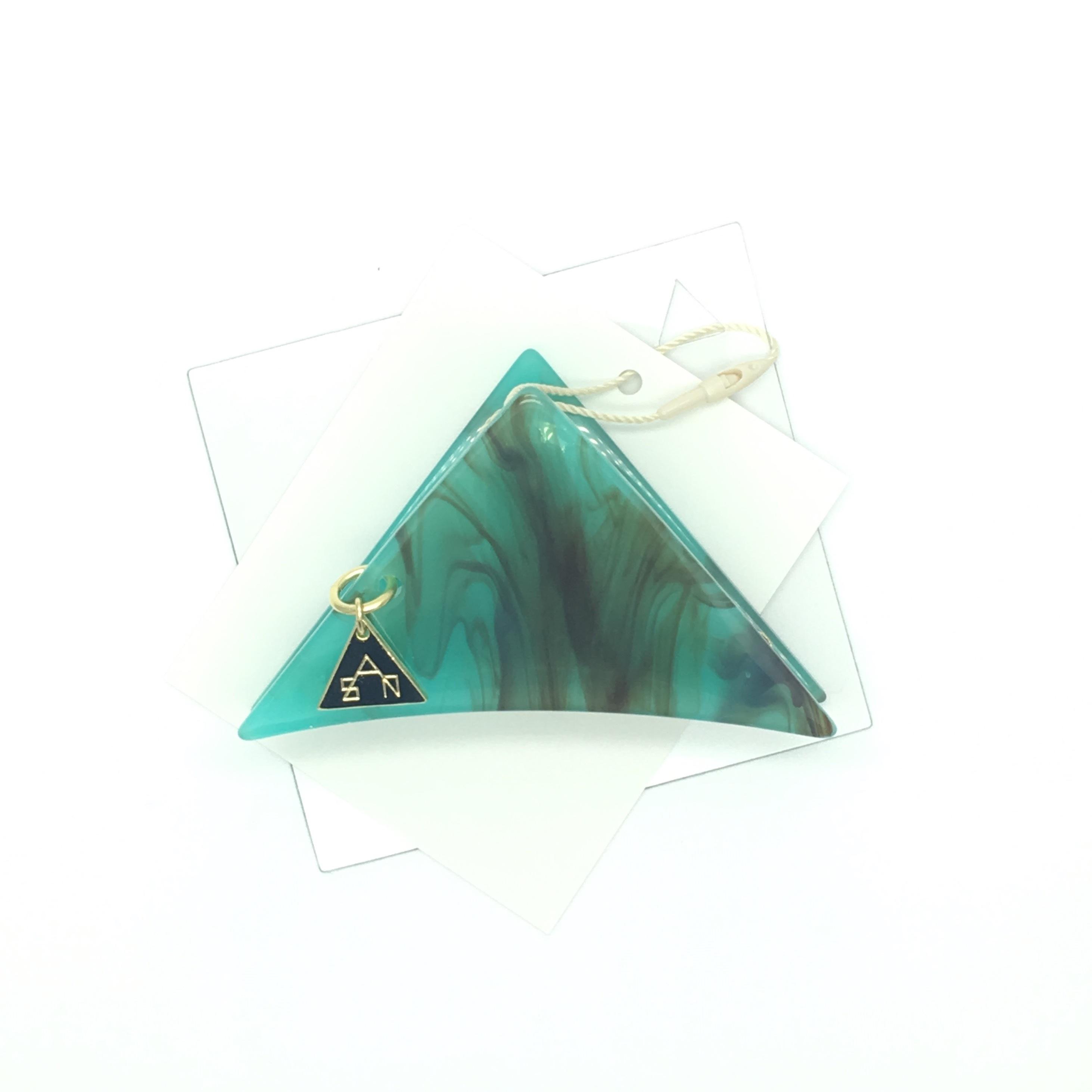 sAn 三角クリップSサイズ ターコイズ