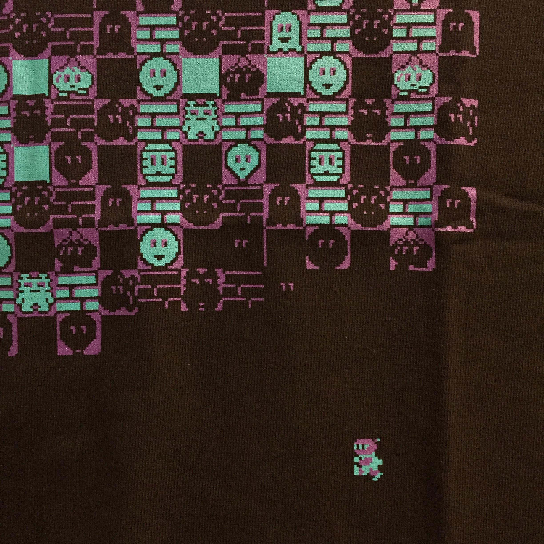 ボンバーマン Tシャツ ( ブラック × ブルー ) / VIDEO GAME TOKYO