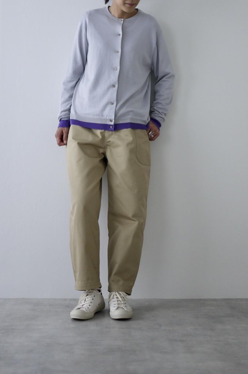 atelier naruse cotton chino balloon pants