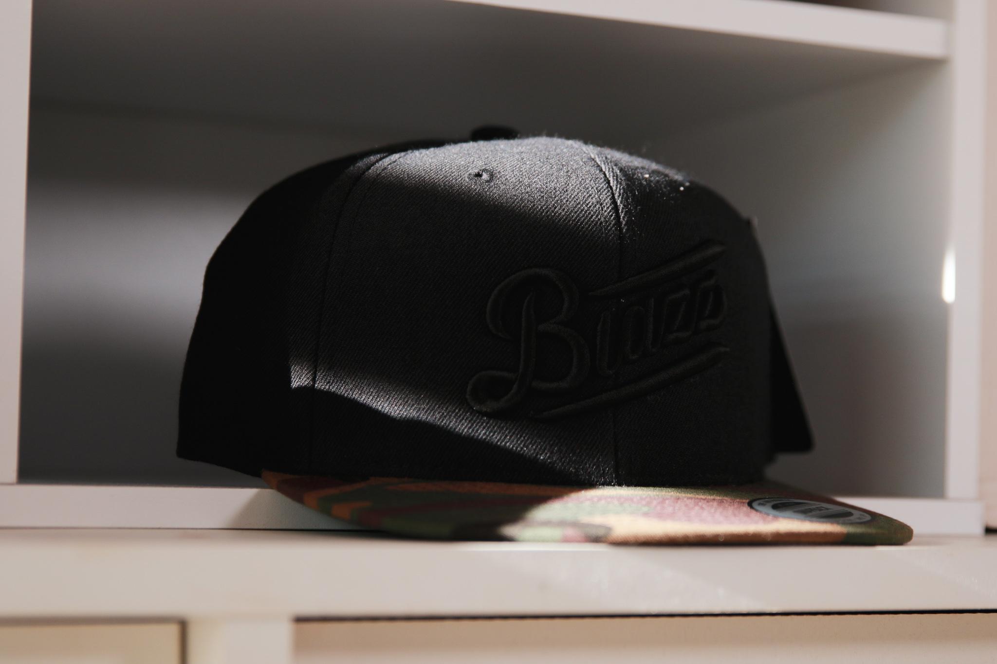 Blunt's Blazz CAMO B.B CAP 2020 [BLACK / CAMO]