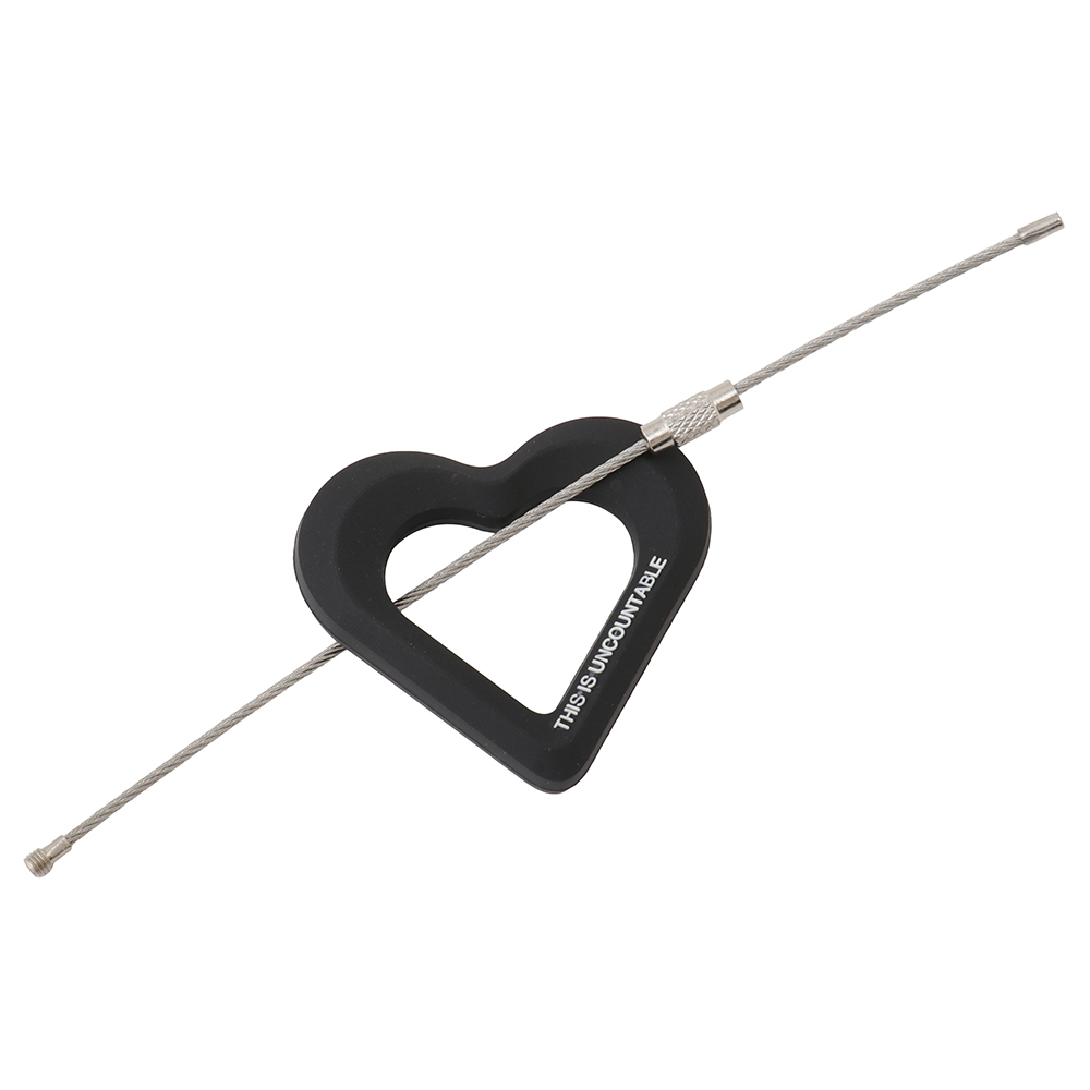 Wire Ring Key Chain (heart) - 画像3