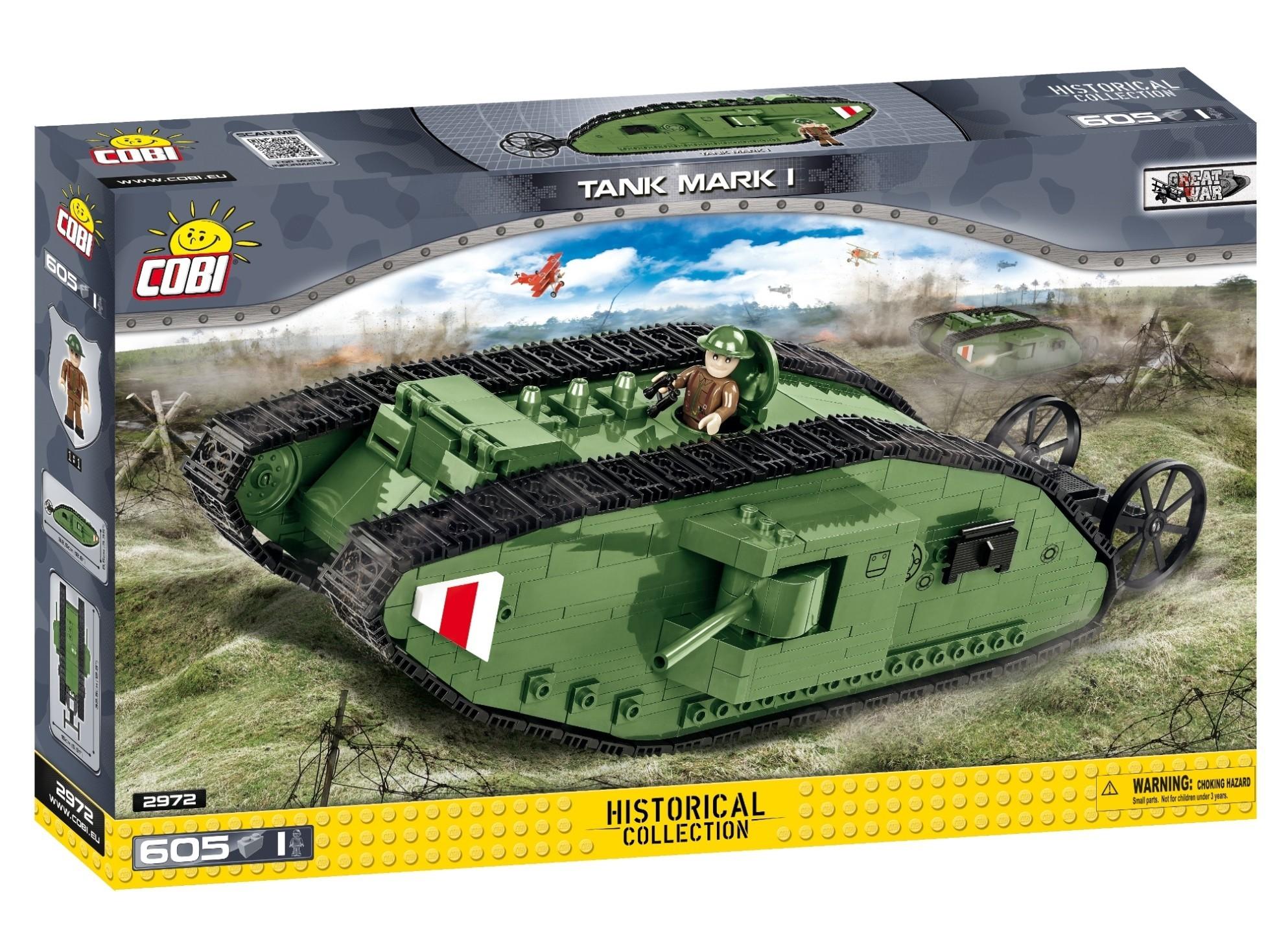 COBI #2972 マーク I 戦車