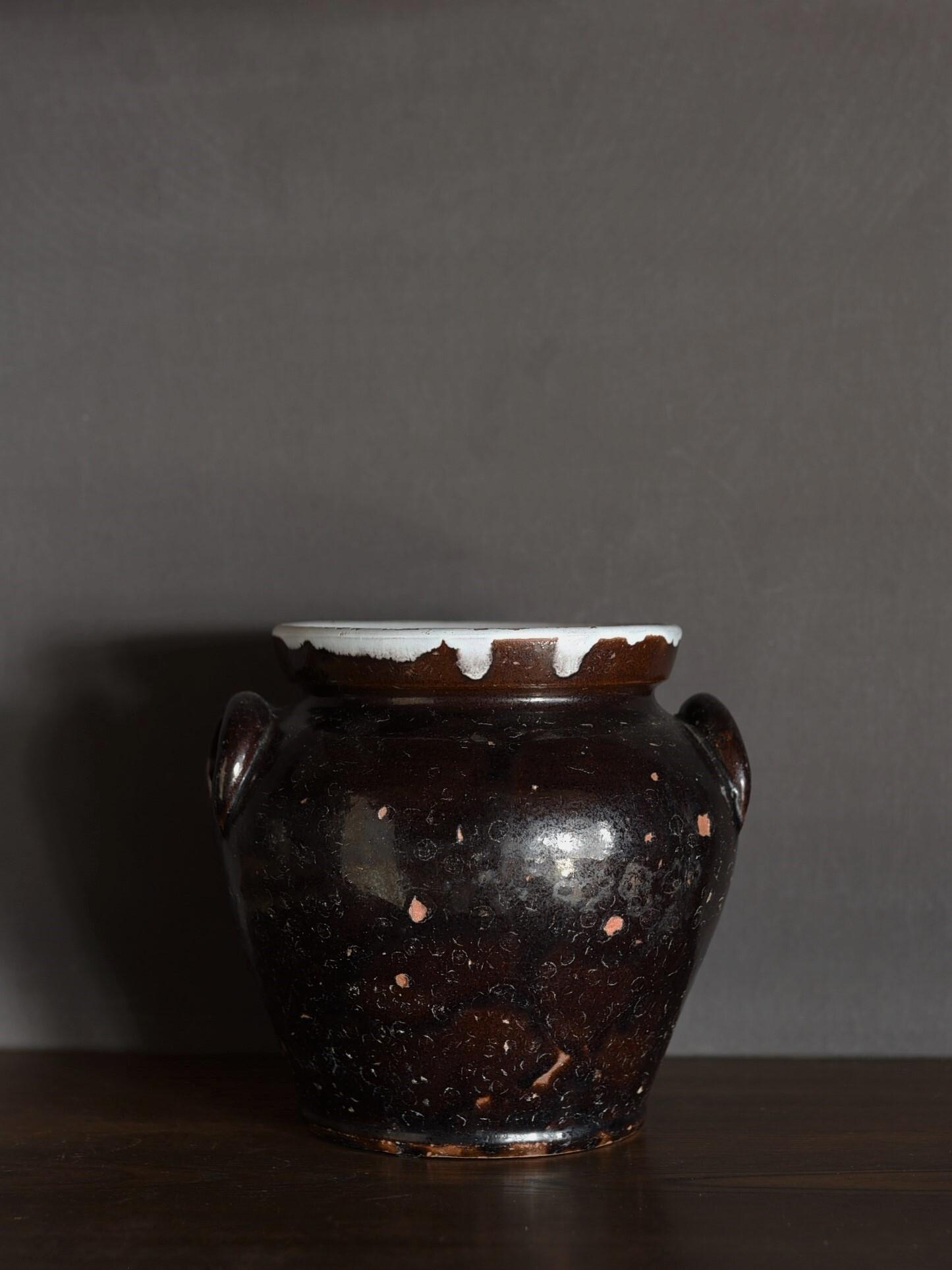 antique | 耳付き壺-eared pot