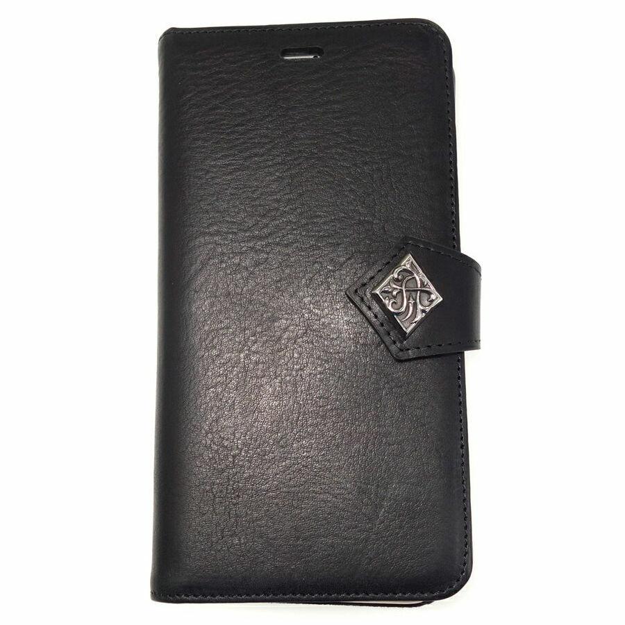 特別価格50%オフ 本革イタリアンレザー_iPhone8Plus_ブックケース ACEX0030