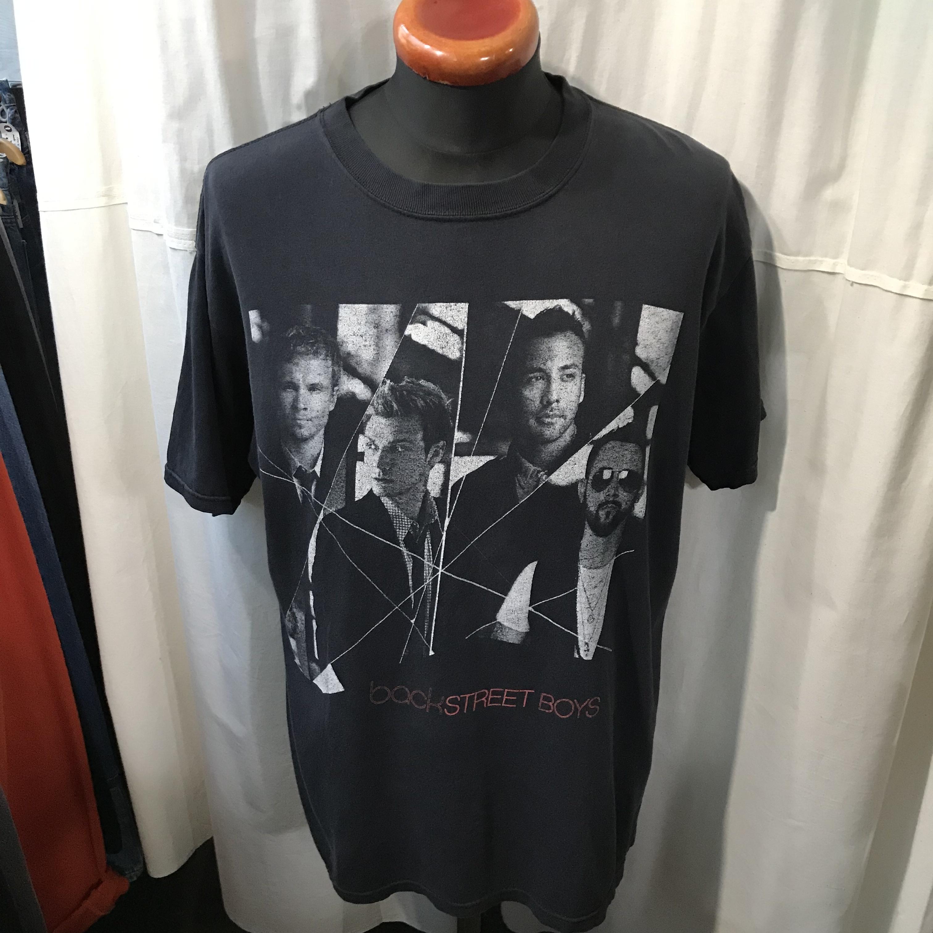 2008年 WORLD TOUR BACK STREET BOYS バックストリートボーイズ 半袖Tシャツ メンズL~XL