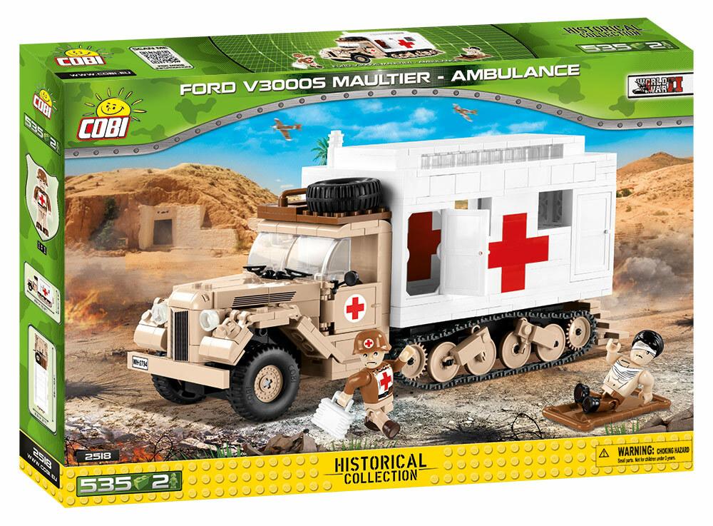 COBI #2518  フォードV3000S Sd Kfz 3b マウルティア救急車