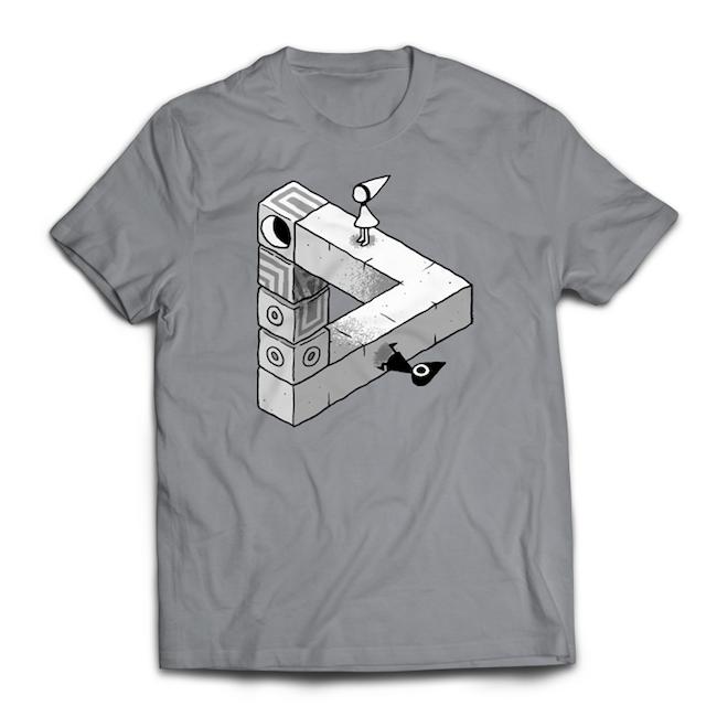 【Monument Valley(モニュメント・バレー) 】トライアングル・ Tシャツ - 画像1