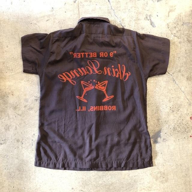 70's Hilton Bowling Shirt #TP-477