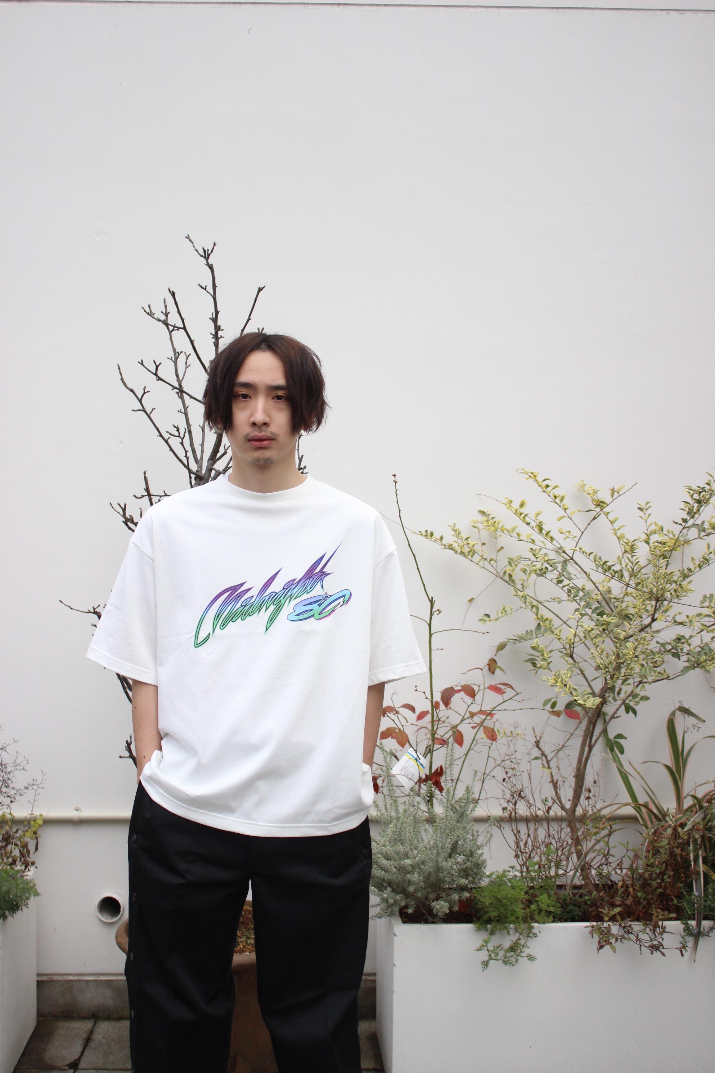 Midnight80 T-shirt / WHITE - 画像3