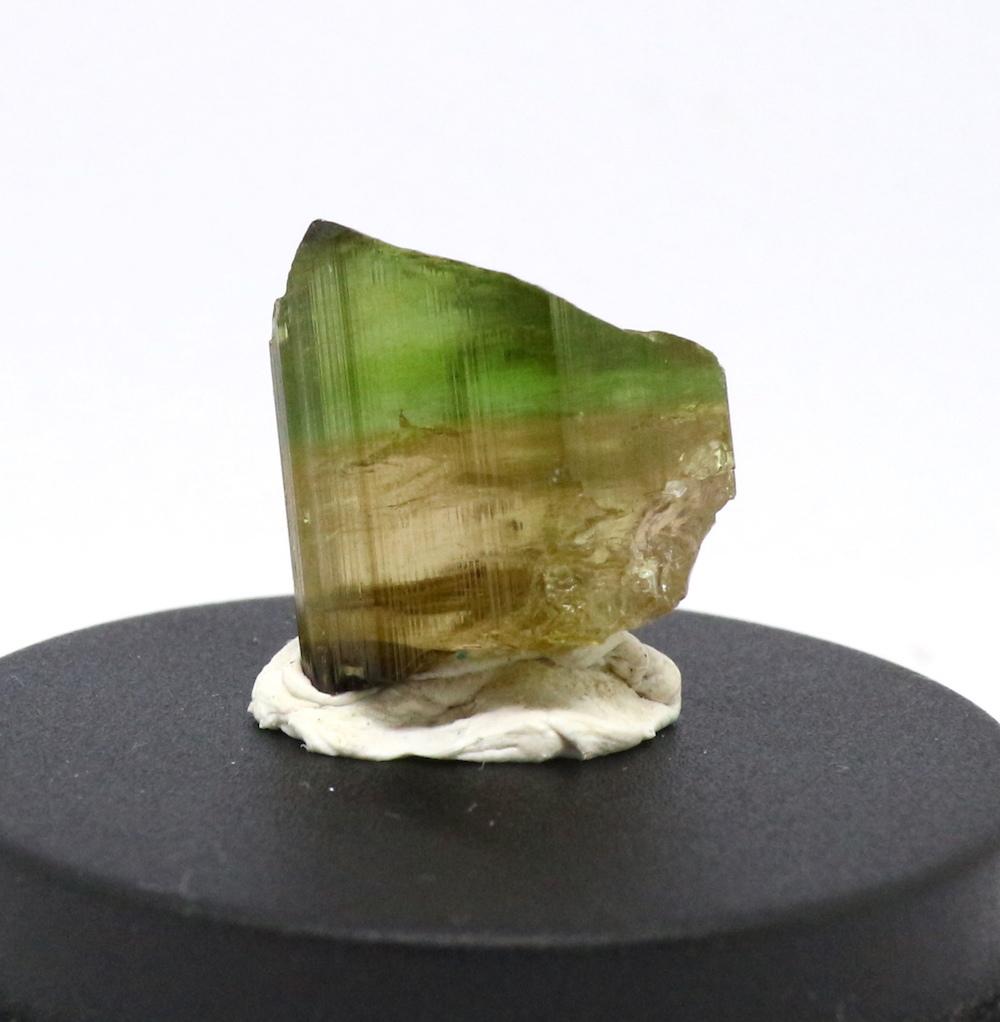 バイカラートルマリン グリーン 3,7g 原石 T028