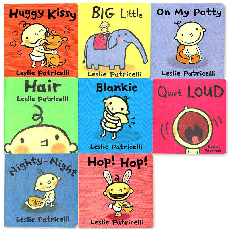 「0~2歳から!Babyボードブック」ミニ8冊セット