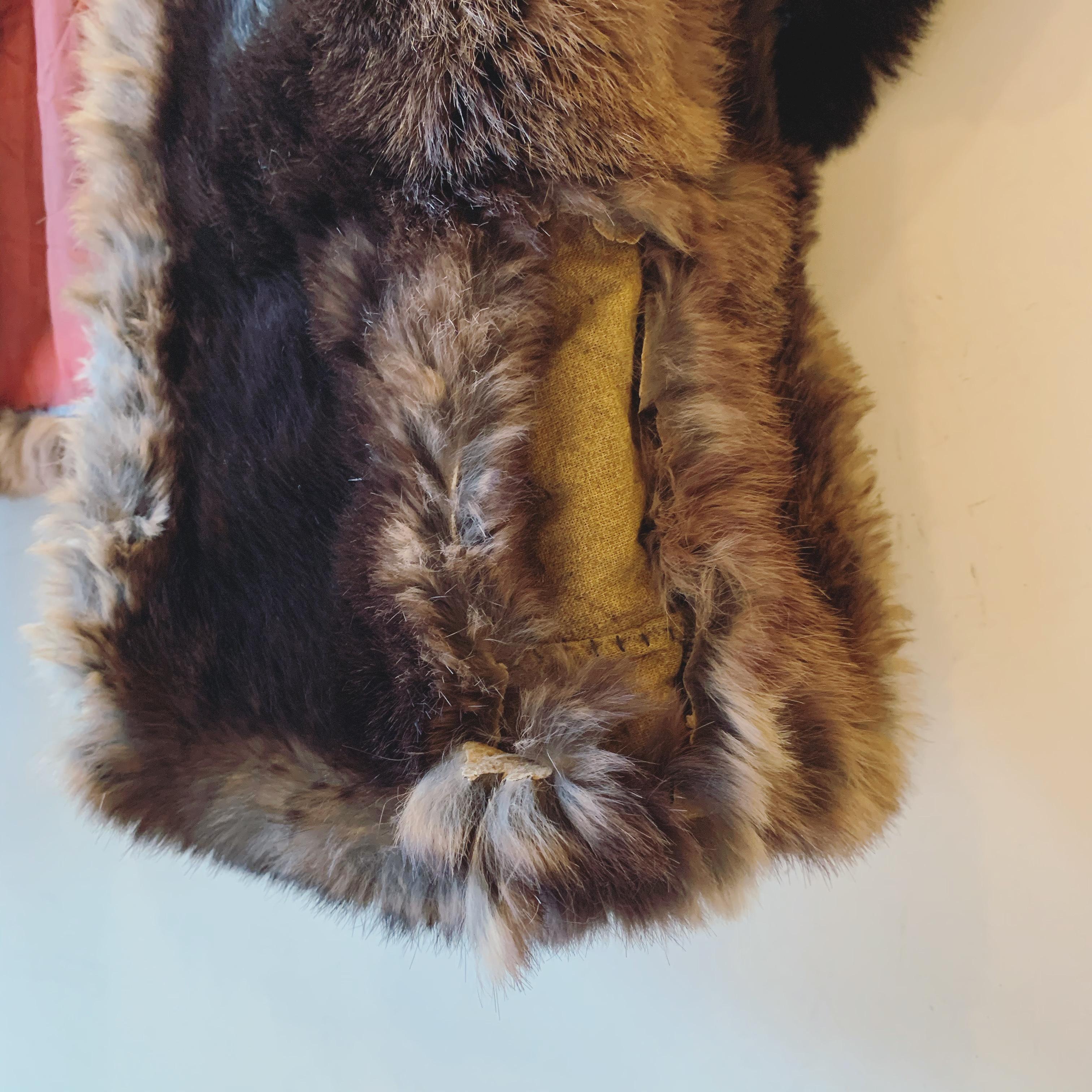 vintage fur cape