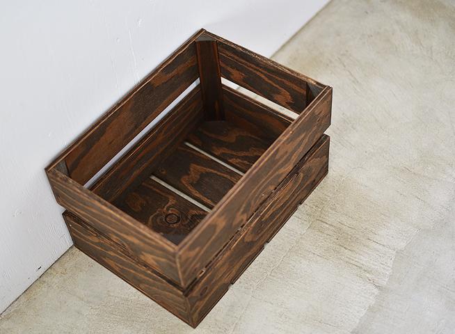 木箱 ベジタブルボックス M