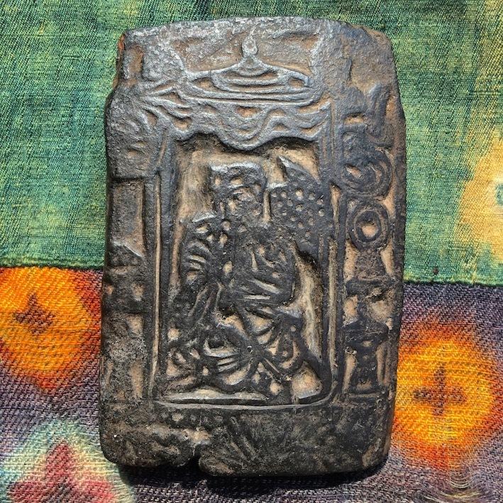 チベット 古い版木