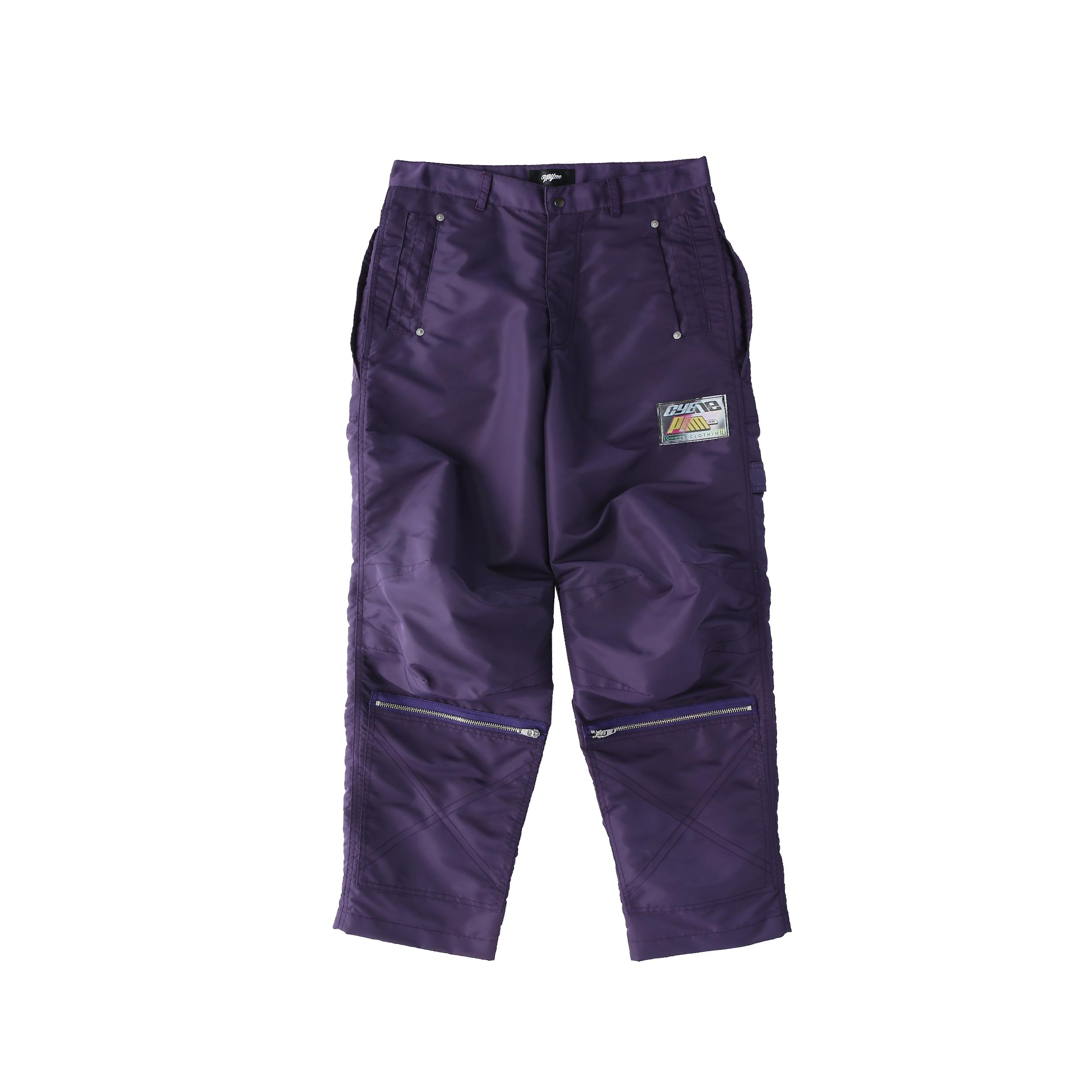 Nylon painter pants / PURPLE - 画像1