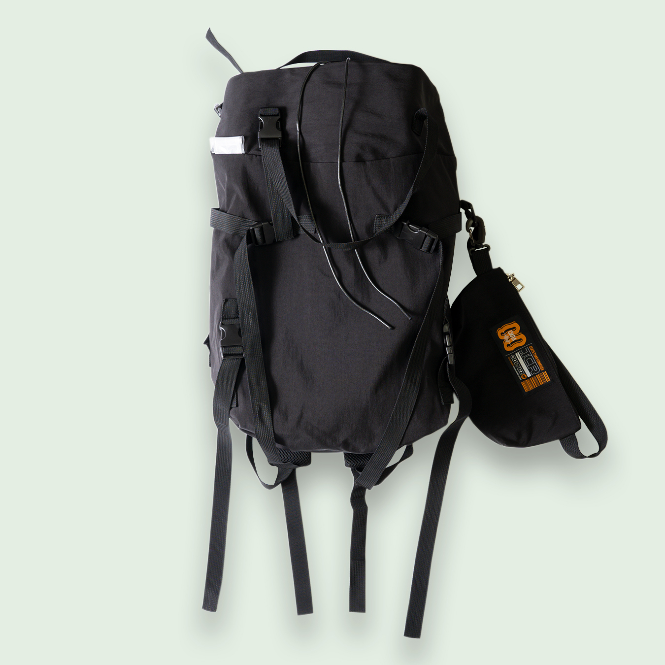TCR-TEX MULUTI STRAP BAG PACK - BLACK
