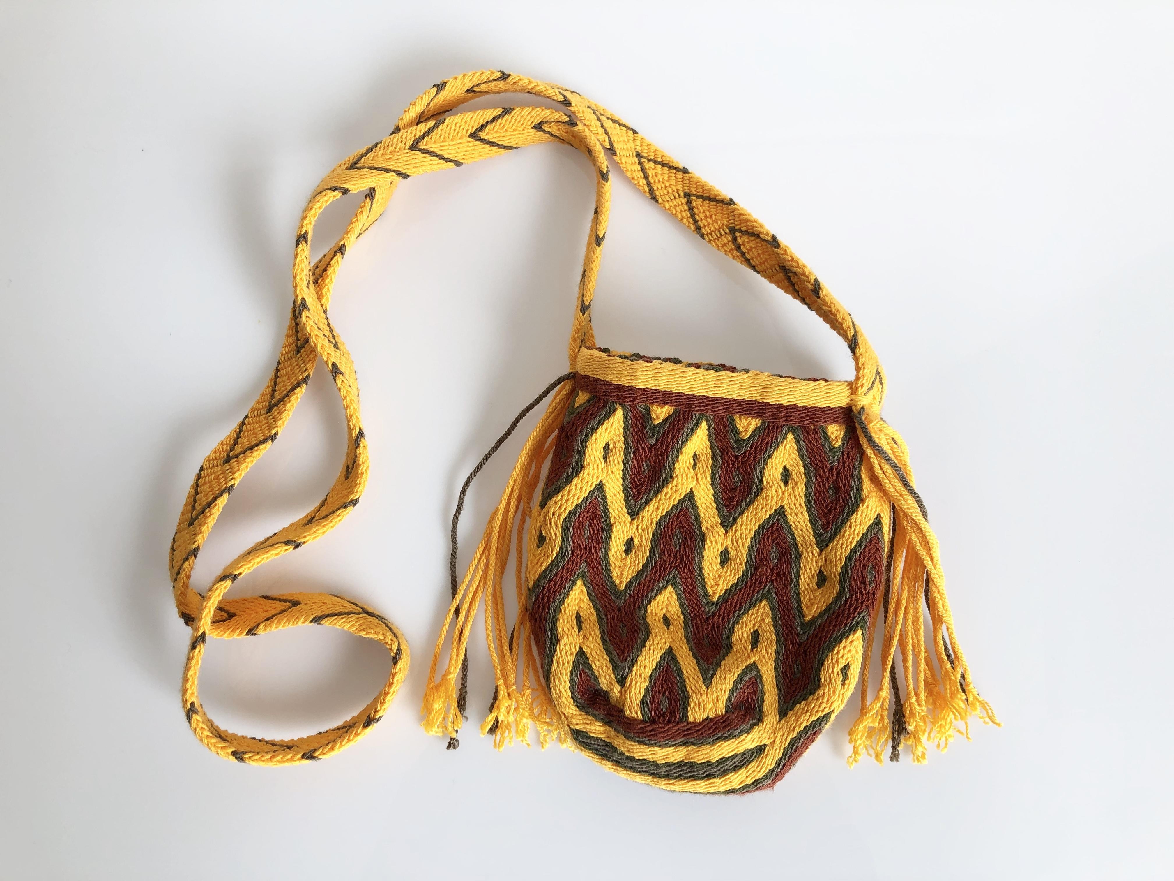 ワユーバッグ (Wayuu bag) 携帯ケース/ポシェット no.3