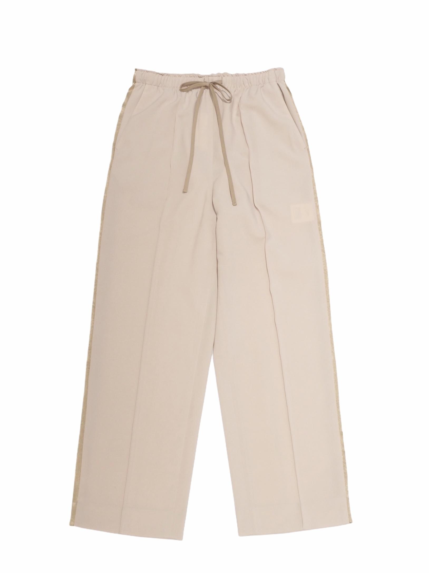 【ELIN】SIDE STRIPE ELASTIC PANTS