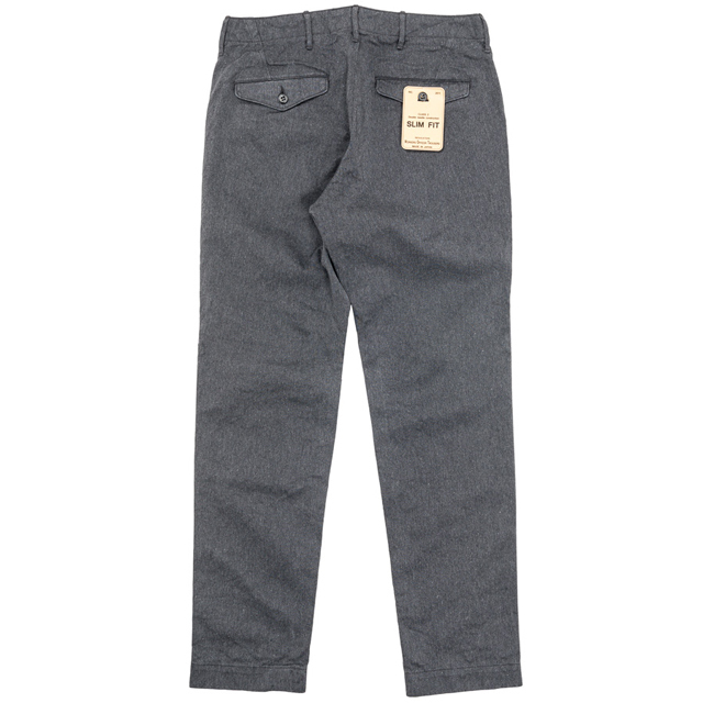 WORKERS ワーカーズ Wokers  (MEN'S) Officer Trousers slim fit,Type2 オフィサースリムトラウザース