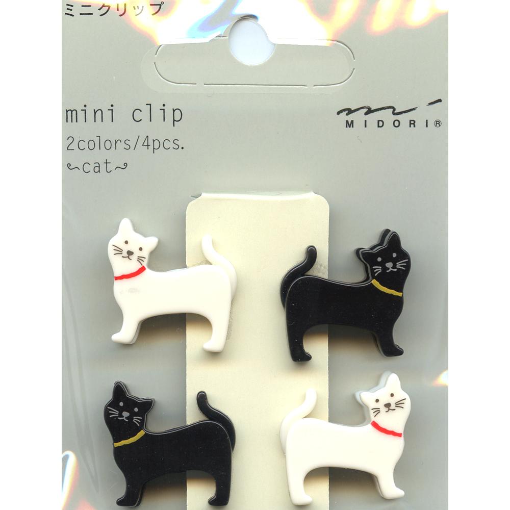 猫クリップ(ネコ柄ミニクリップ)
