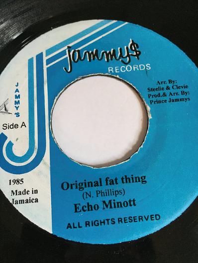 Echo Minott(エコーマイノット) - Original Fat Thing【7'】