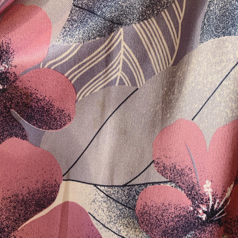 vintage see-through sleeve design onepiece