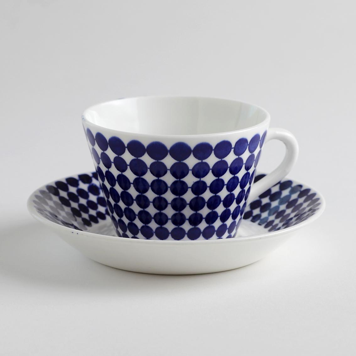 Gustavsberg グスタフスベリ Adam アダム 80mmコーヒーカップ&ソーサー - 3 北欧ヴィンテージ
