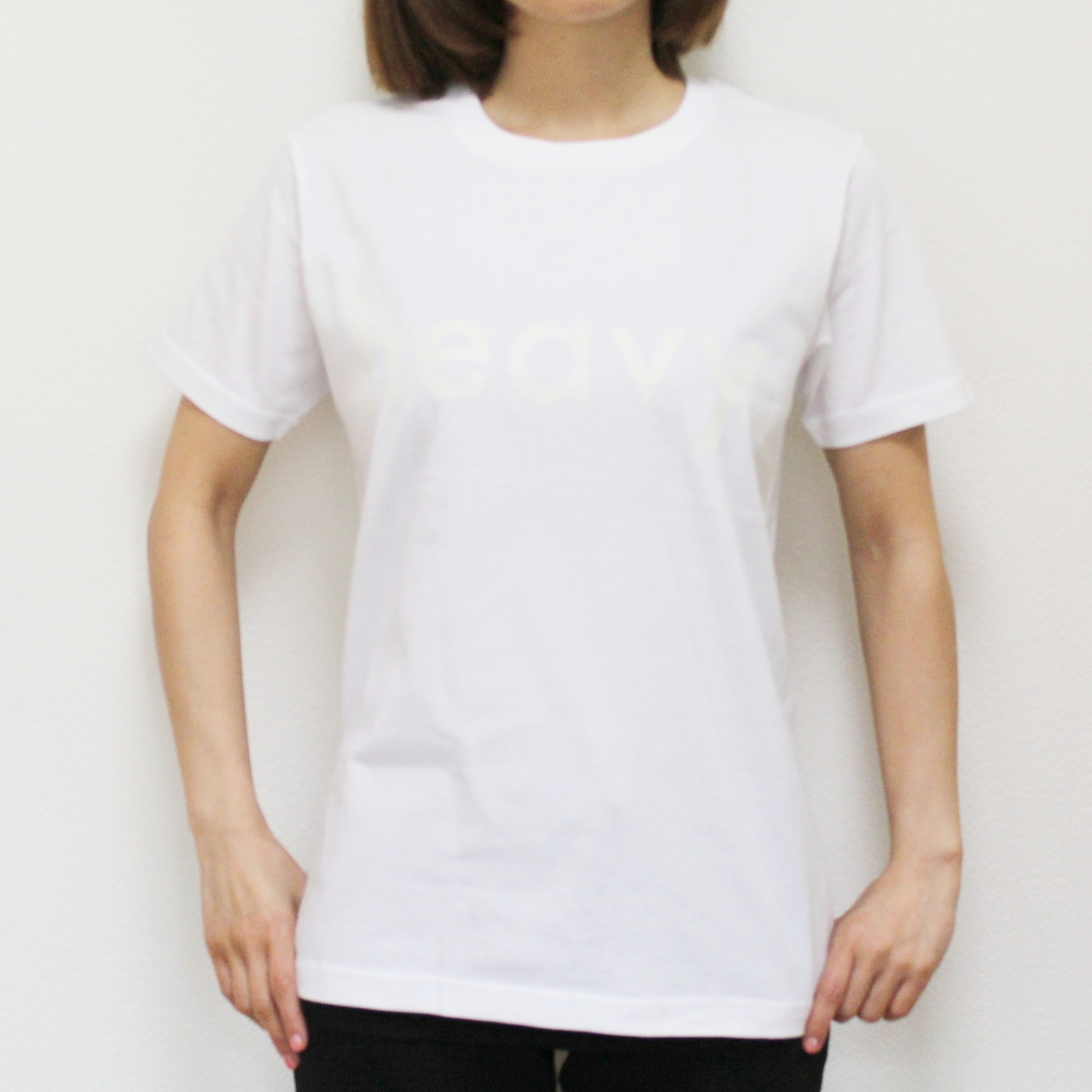 logo tee WHITE [2017SS] - 画像2