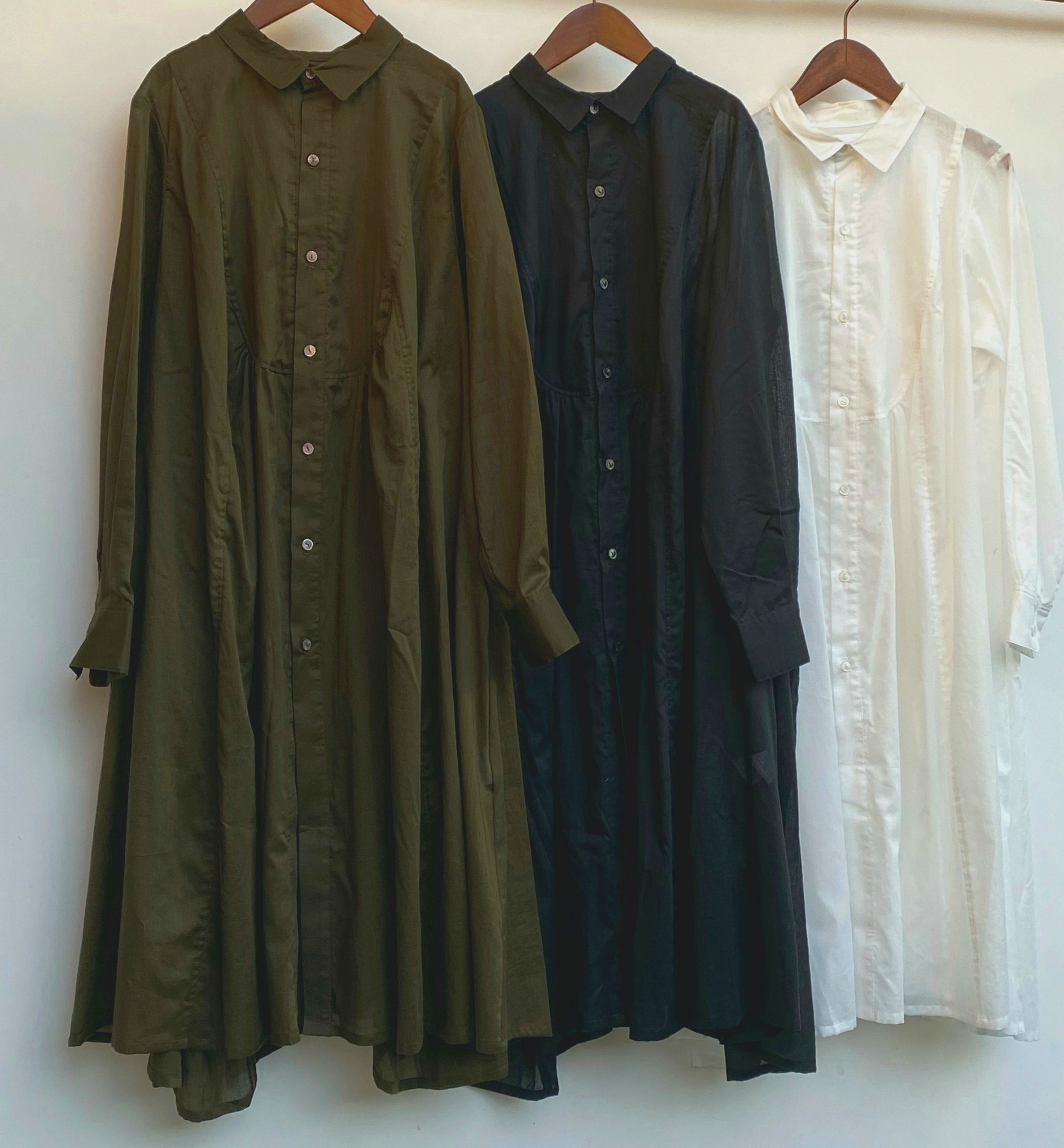 the last flower of the afternoon/ 揺蕩いのrobe shirt