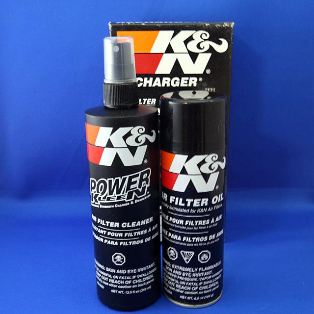 K&Nオイル湿式タイプ洗浄クリーナーキット - 画像1